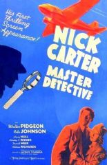 Nick Carter, Master Detective 1939 DVD - Walter Pidgeon / Rita Johnson